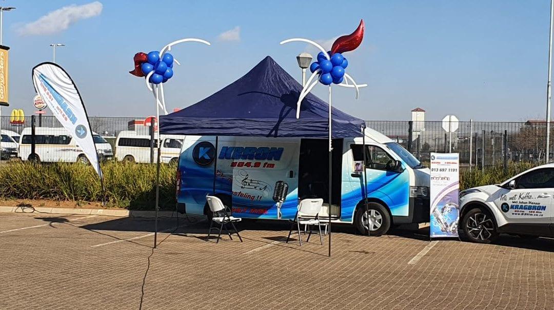 Radio Kragbron, Middelburg Mall uitsending